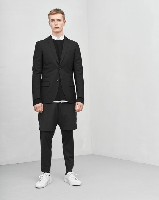 Rick Cool Wool Jacket Black