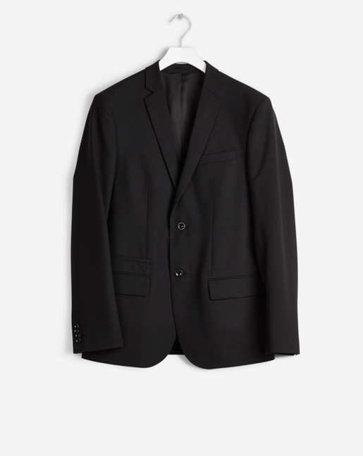 Rick Cool Wool Jacket Black