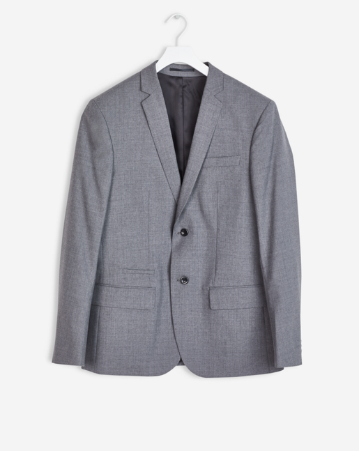 Rick Cool Wool Jacket Grey Mel.