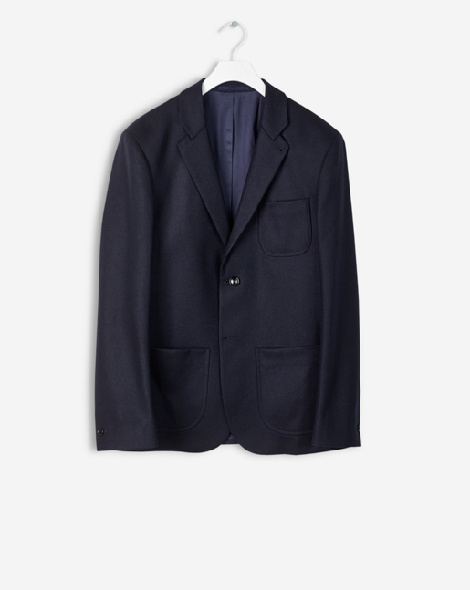 Rick Wool Jacket Navy