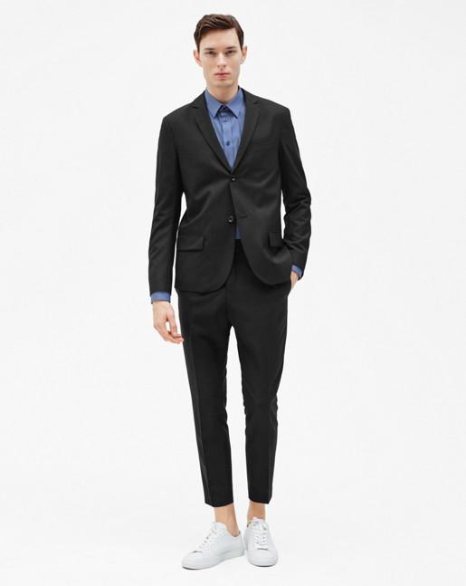 Daniel Cool Wool Jacket Black