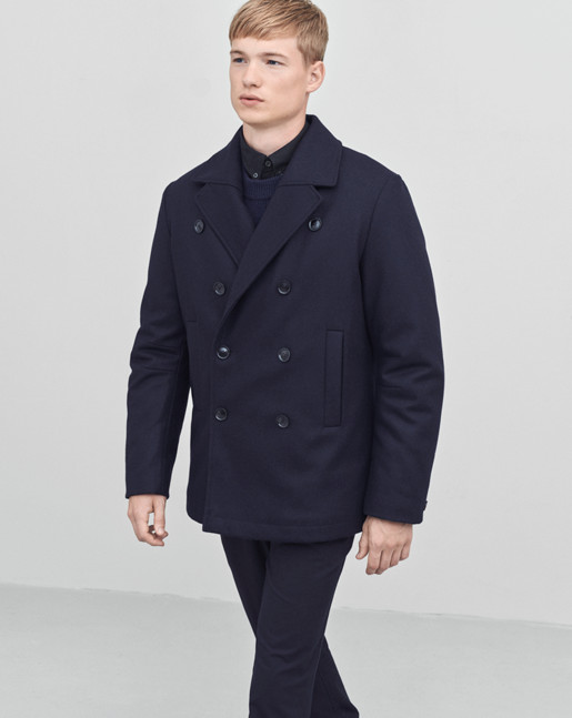 Marc Peacoat Navy