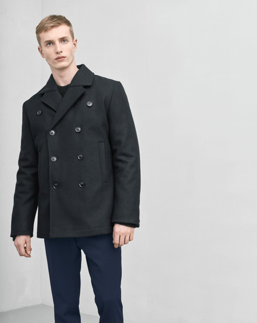 Marc Peacoat Black