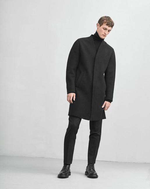 Elay Coat Black