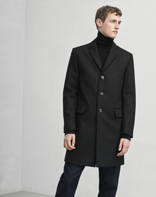 Ralph Wool Coat Black