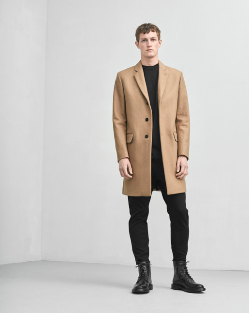 Ralph Wool Coat Cork