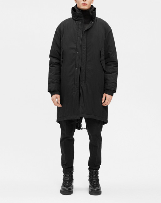 M65 Fishtail Parka Black