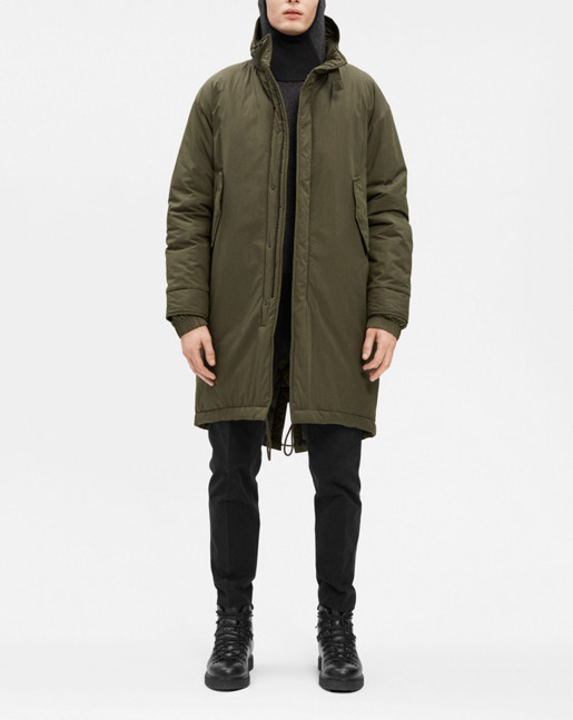 M65 Fishtail Parka Fen - Filippa K