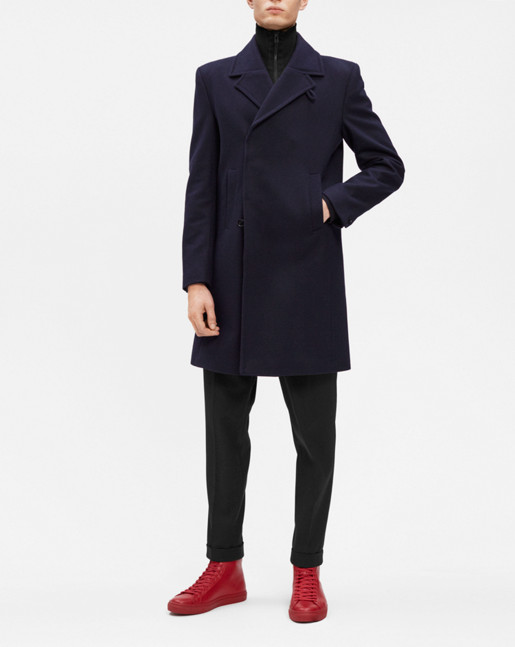 Ralph Topcoat Navy