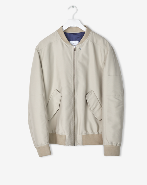 Viktor Bomber Light Beige