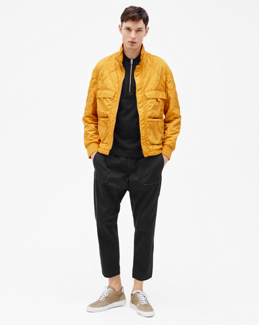 Padded Field Jacket Honey