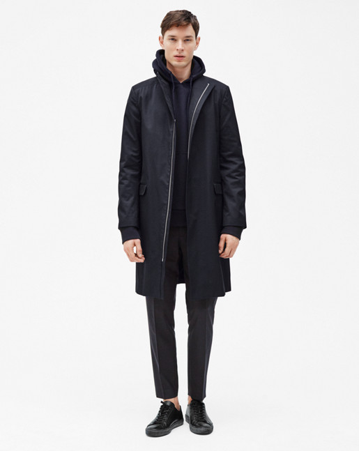 Zac Coat Navy