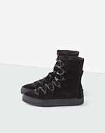 Cliff Boot Black Suede