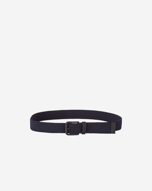 Elasticated Belt Navy
