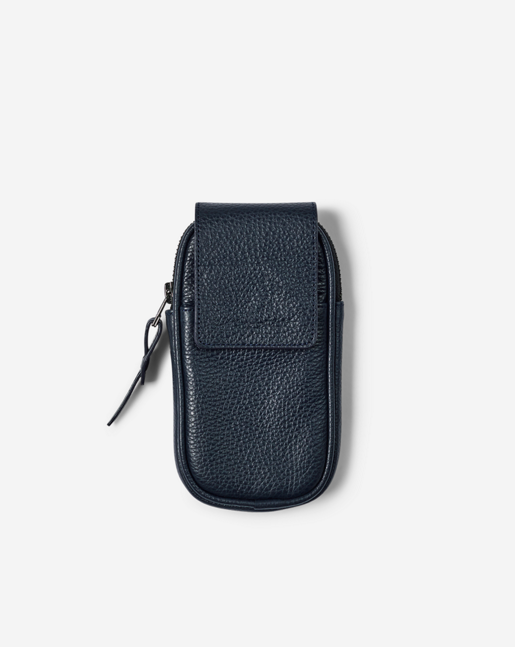 Leather Utility Case Navy
