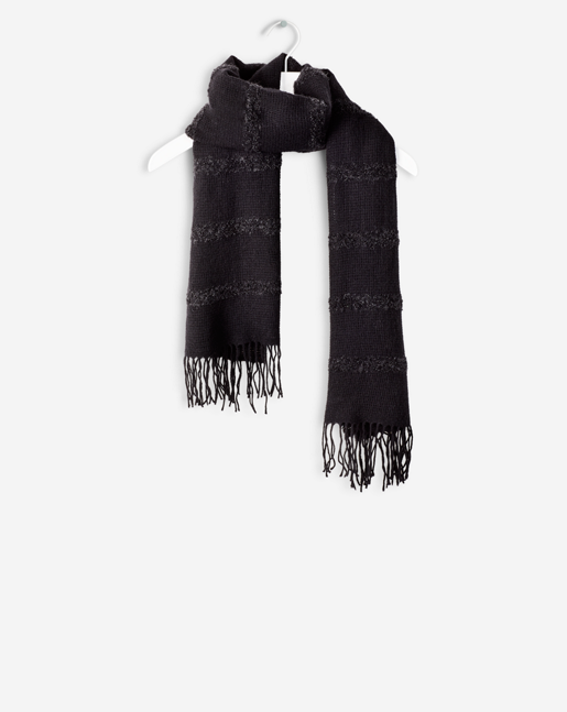 Structured Wool Scarf