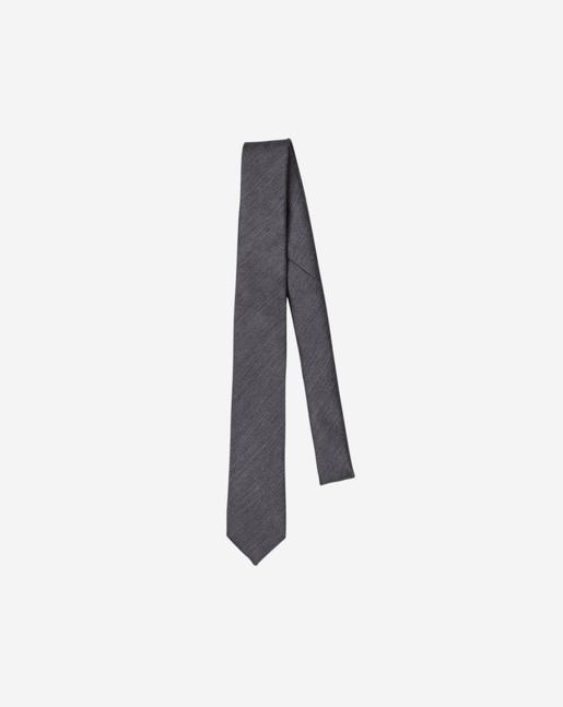 Wool Silk Flannel Tie