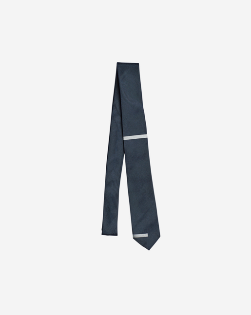 Block Tie Navy/White