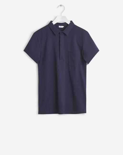 Soft Lycra S/S Poloshirt Coastal
