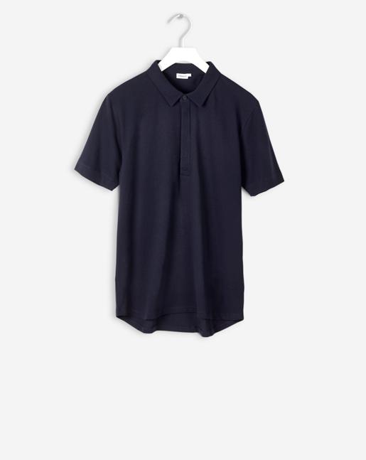 Pique Poloshirt S/S Navy