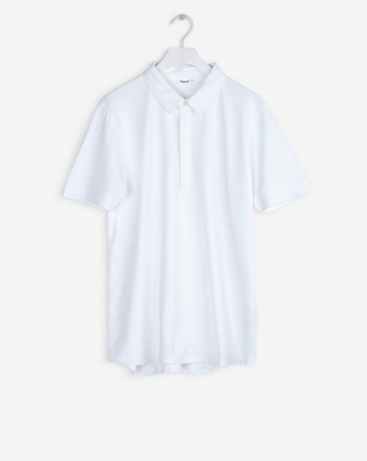 Pique Poloshirt S/S White