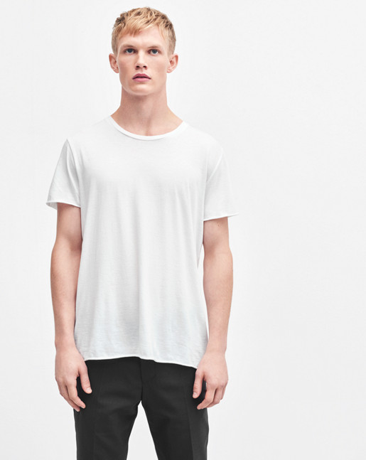 Lt. Single Jersey Tee White
