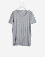 Melange Tee Light Grey