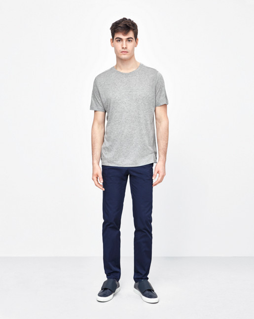Adrian Tencel/Cotton Tee Grey