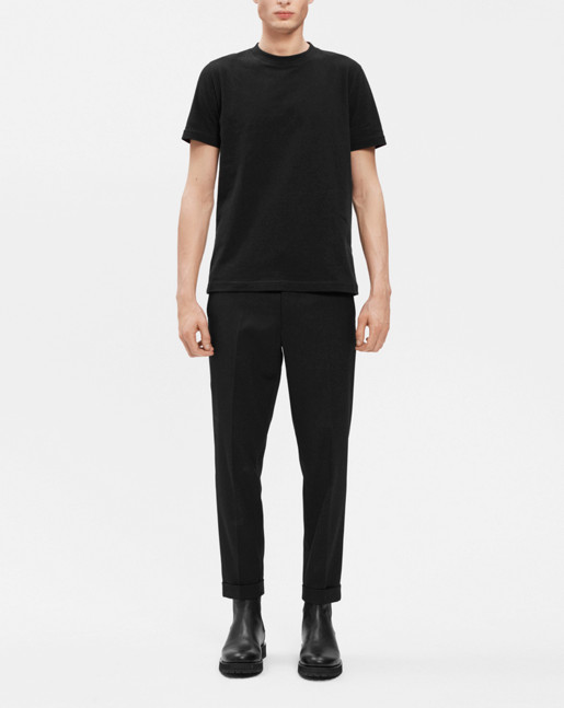 Adrian Heavy Cotton Tee Black