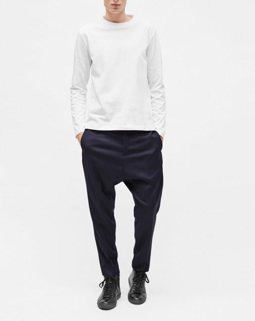 Adrian Heavy Cotton L/S White