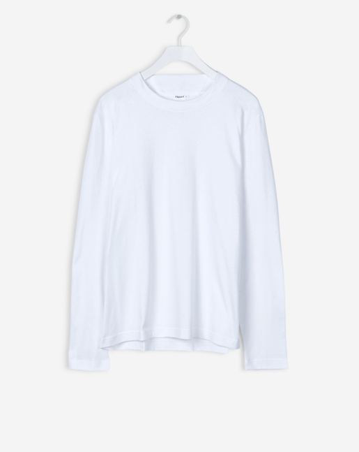 Adrian Heavy Cotton L/S White