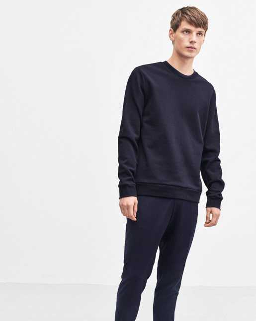 Tyco Cotton Solid Sweatshirt Navy
