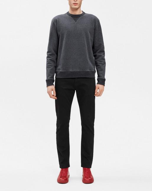 Ryder Sweatshirt Dk Grey Mel.