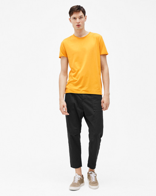 Roll Neck Tee Honey
