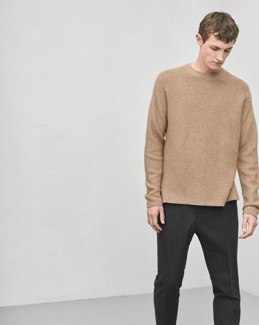 Wool Cotton Sweater Cork