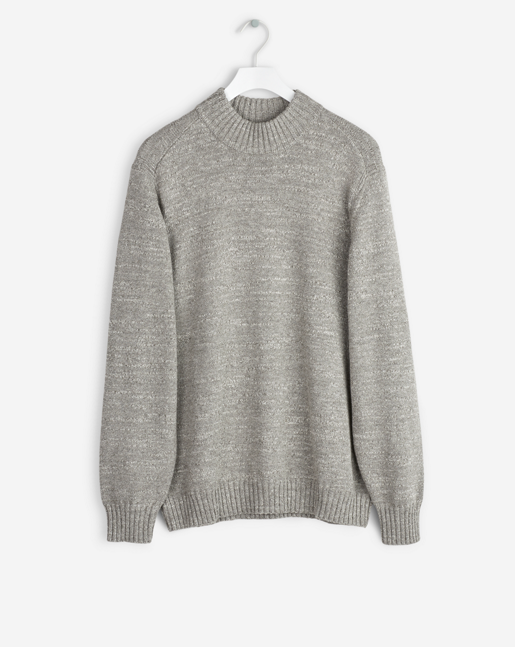 Wool Melange Sweater Grey