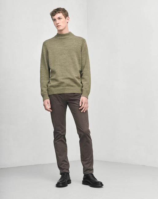 Wool Melange Sweater Jade
