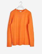 Light Yak Sweater Orange Fire