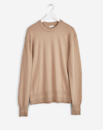 Cotton Cashmere Light Knit Desert