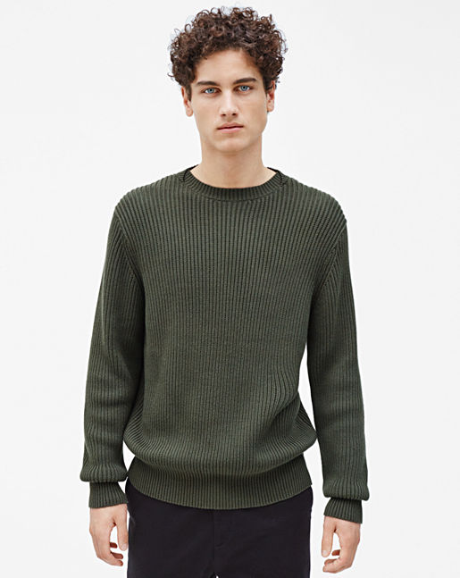 Ribbed Pullover →