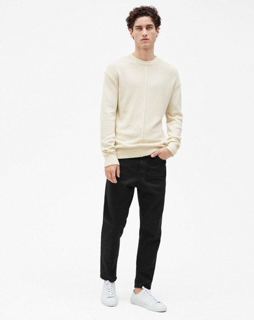 Cotton Mix Sweater Salt