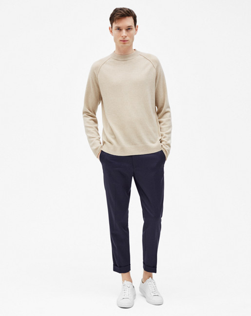 Cashmere Sweater Light Beige