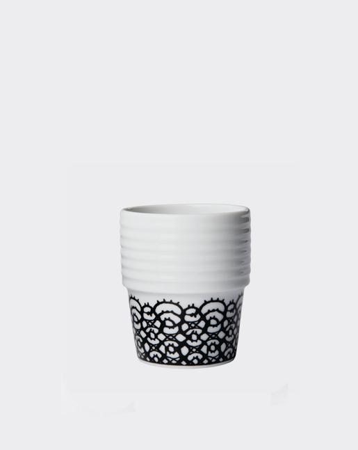 Espresso Cup Black Lace