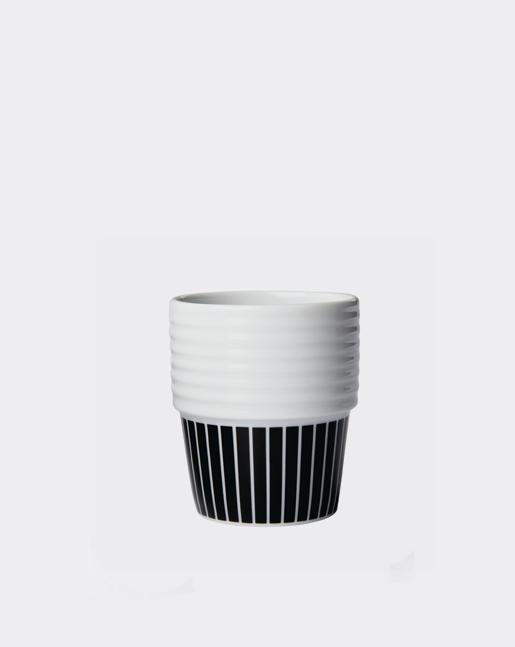 Espresso Cup Pinstripe
