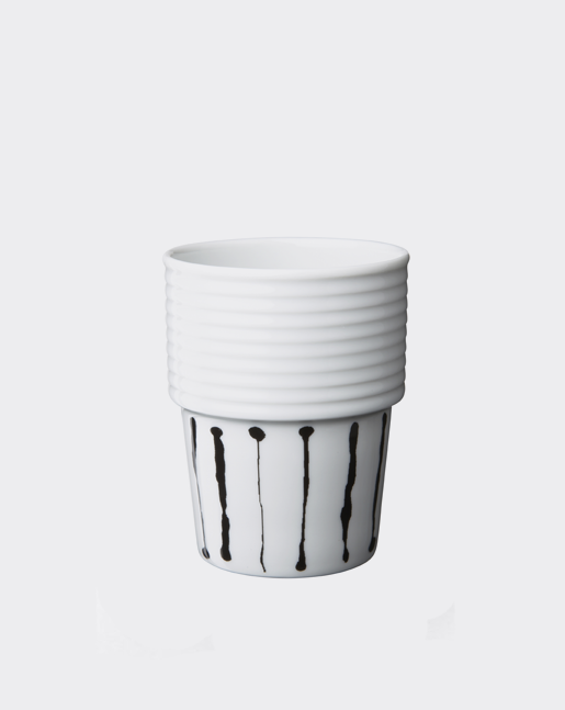 Coffee Cup Ink Stripe