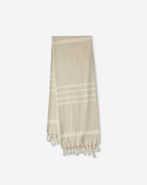 Beach Towel Dune/Off White