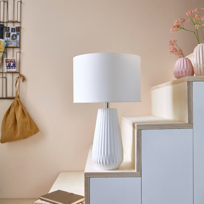 Lampe à poser Colours Panera blanc