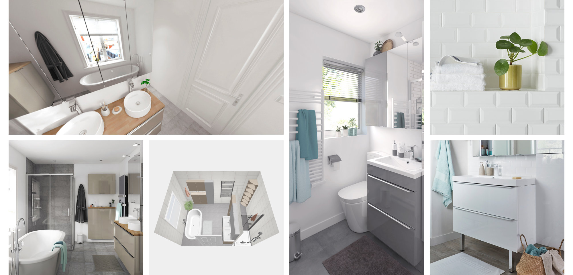B&Q Bathroom Planner | Design your own bathroom online