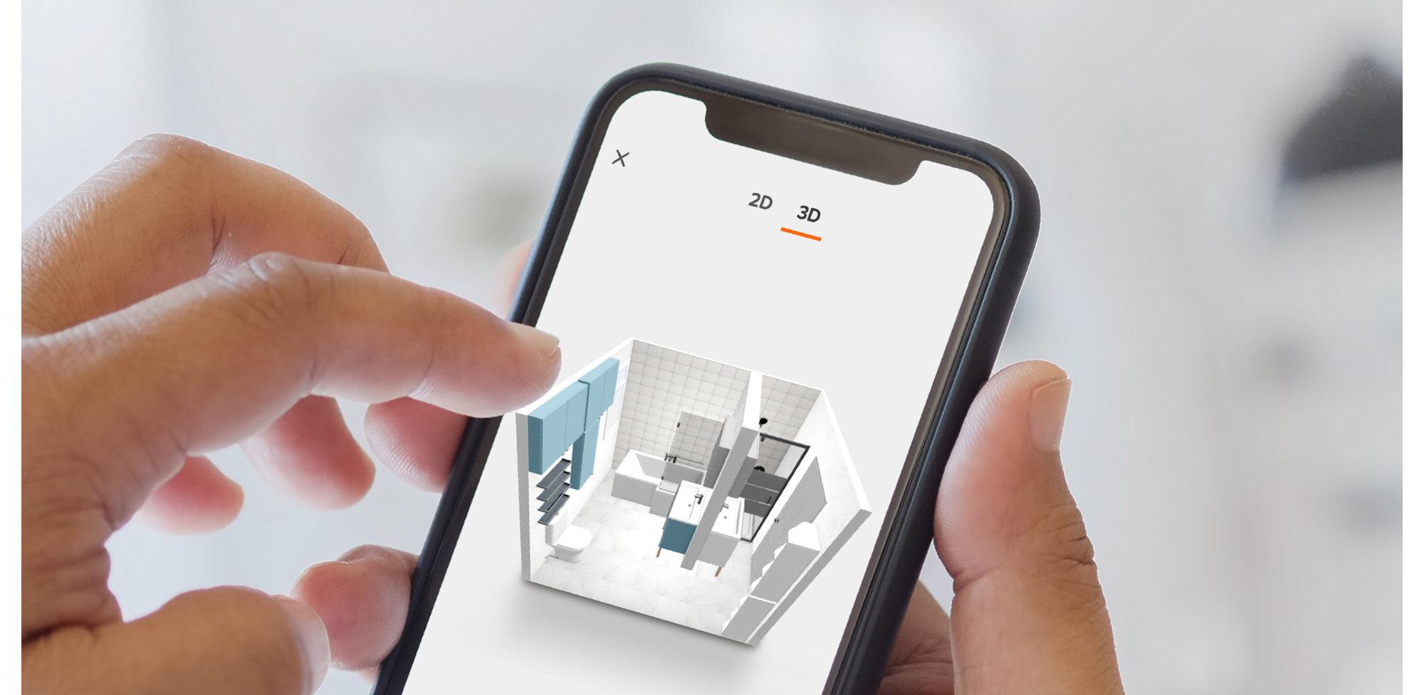 B&Q Bathroom Planner   Design your own bathroom online