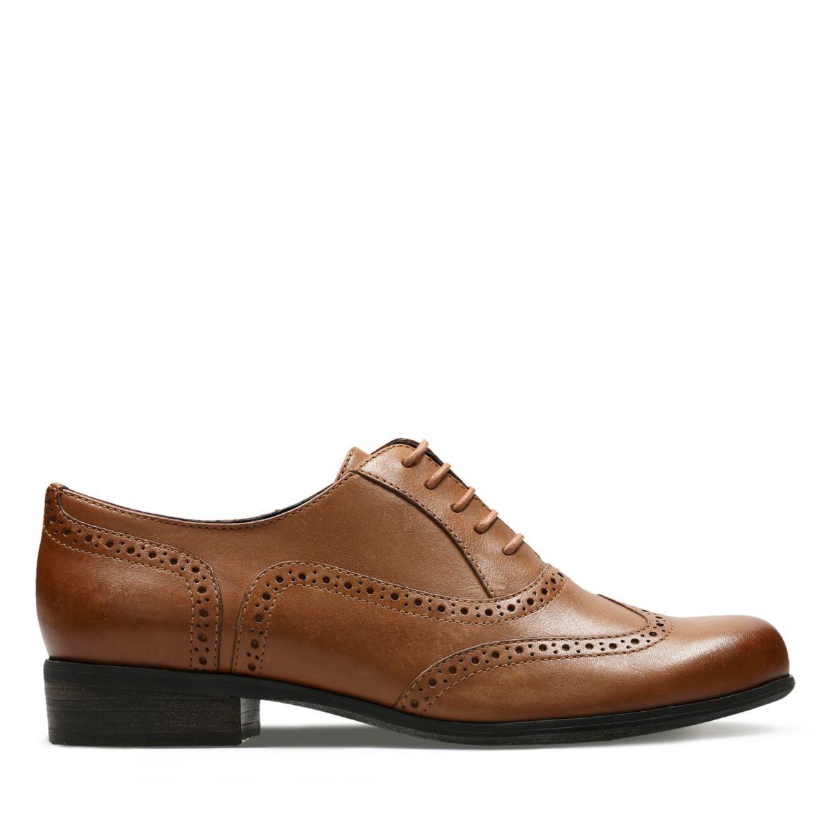 Clarks Hamble Oak 20350674 - Zapatos de cordones para mujer, color marrón, talla 37